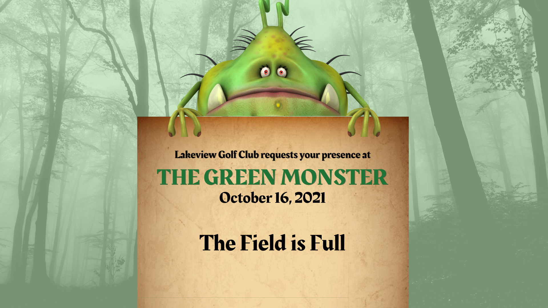 The Green Monster is Back!